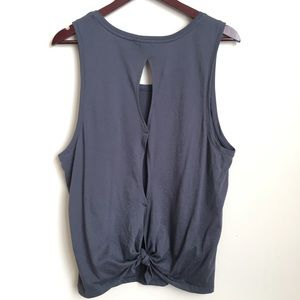 Victoria's Secret Tops - Victoria's Secret Sport Tie Back Tank
